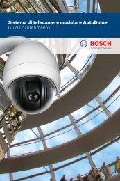Sistema di telecamere modulare AutoDome Guida di riferimento