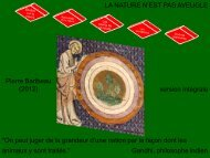Diapositive 1 - Philosophie spiritualiste
