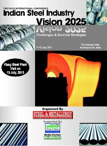 Vizag Steel Plant Visit on 13 July, 2013 - Steel & Metallurgy