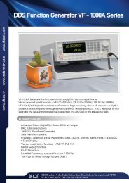 DDS Function Generator VF - 1000A Series
