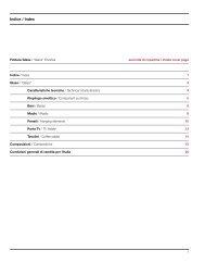 Indice / Index - Suite 22 Interiors