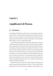 Amplificatori di Potenza - Università degli Studi di Roma Tor Vergata