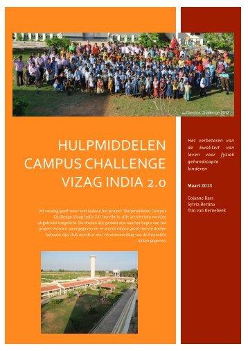 Hulpmiddelen Campus Challenge Vizag India 2.0