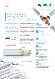Uponor Multistrato: i vantaggi del metallo e della plastica ... - Watergas
