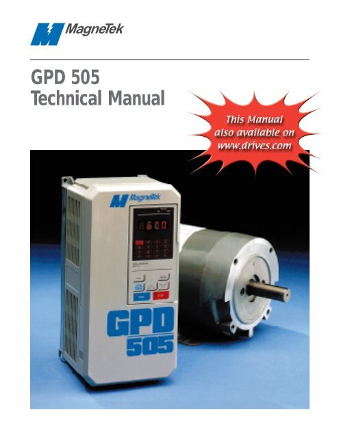 GPD 505 Technical Manual - Yaskawa