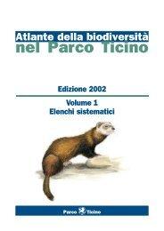 Atlante della biodiversità 2002 - Eventi.Parcoticino.It - Parco del Ticino