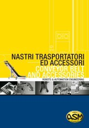 nastri ed accessori - asm robots & automation engineering