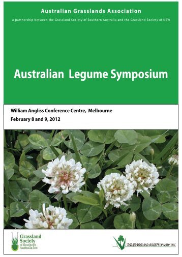 Australian Legume Symposium - Australian Grasslands Association