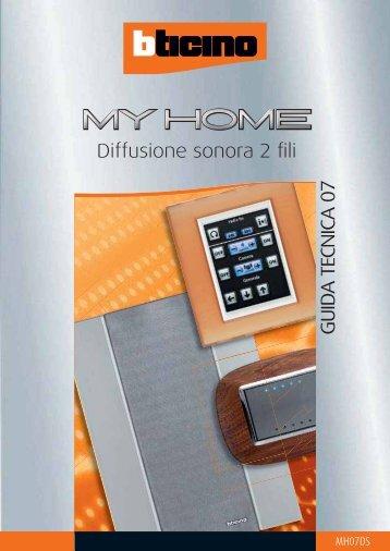 bticino my home diffusione sonora 2 fili - Edilportale