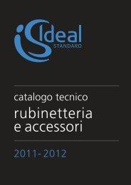 rubinetteria e accessori - Cataloghi - Ideal Standard