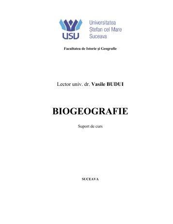 BIOGEOGRAFIE - biogeosol