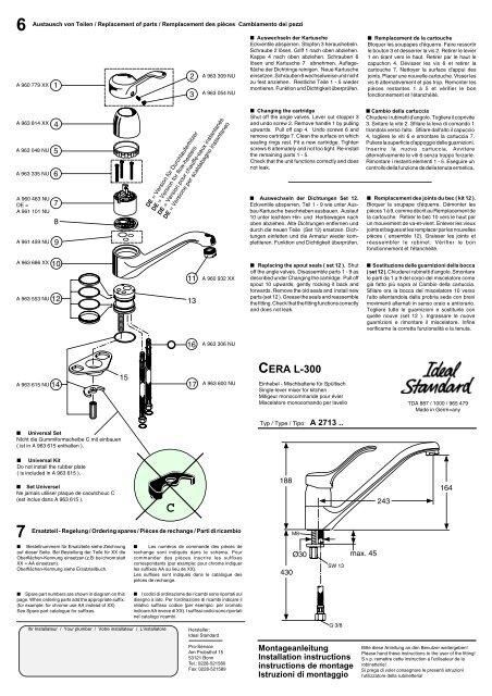 Cera L 300 Ideal Standard