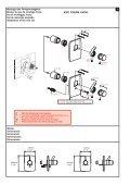 Unterputz-Thermostatmischer Mitigeur thermostatique ... - KWC - Page 2