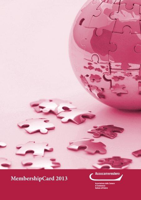 MembershipCard 2013 the Italian Chamber of Commerce