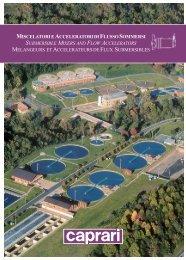 miscelatori e acceleratori di flussosommersi submersible mixers and ...