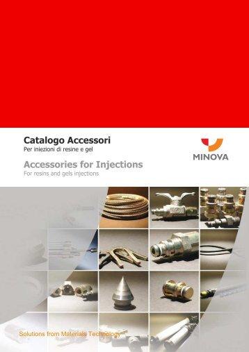 Catalogo accessori iniezione