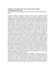 Prólogo a la traducción de