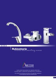 Rubinetterie mixers and sanitary wares - GT Comis