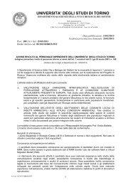 UNIVERSITA' DEGLI STUDI DI TORINO - Università degli Studi di ...