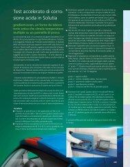 Test accelerato di corro- sione acida in Solutia - BYK