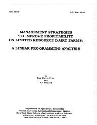 89-10 - Department of Applied Economics and Management ...