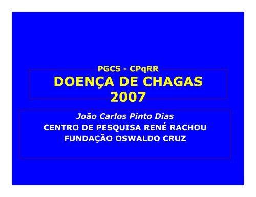 Doença de Chagas - Centro de Pesquisas René Rachou