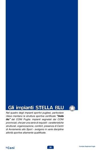 Gli impianti STELLA BLU J - Coni Puglia
