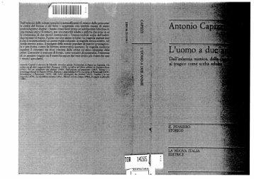 Antonio Capizzi, L'uomo a due anime (PDF) - in quiete