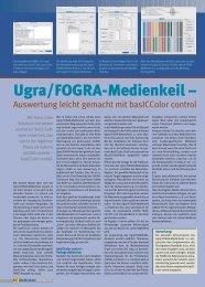 Ugra/FOGRA-Medienkeil – - Jutta Bock