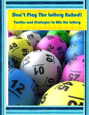 Don't Play The Lottery Naked! - Naked Lottery Player