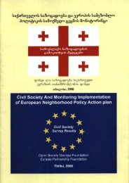 Civil Society and Monitoring Implementation of European ...