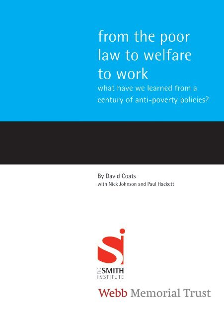 From%20the%20Poor%20Law%20to%20Welfare%20to%20Work
