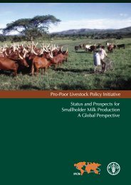 Status and Prospects for Smallholder Milk Production A ... - Perulactea