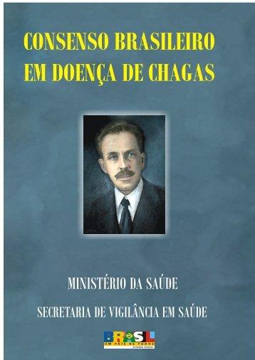 consenso brasileiro em doença de chagas - Ministério da Saúde