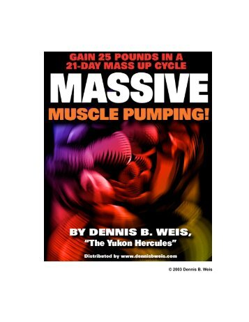 2003 Dennis B. Weis - Lee Hayward's Total Fitness Bodybuilding ...