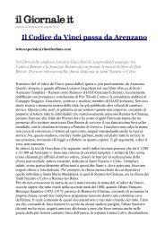 Articolo - Il Giornale - Arenzanotracieloemare.it