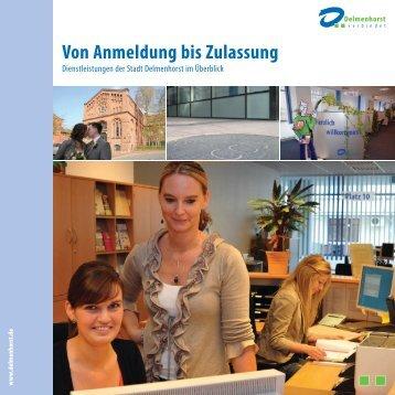 Von Anmeldung bis Zulassung - Stadt Delmenhorst
