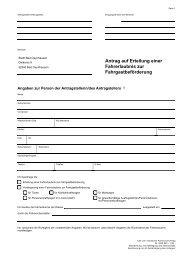 Antrag auf Erteilung einer Fahrgastbeförderung ... - Bad Oeynhausen