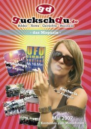 guckschdu :: Mai 2007 - bei guckschdu.de