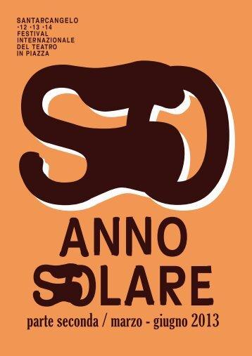 Anno Solare - Seconda Parte - IAT Santarcangelo