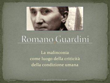 Romano Guardini - Istituto di Cultura Italo-Tedesco
