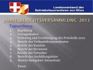 Bericht - Landesverband der Betriebsfeuerwehren von Wien