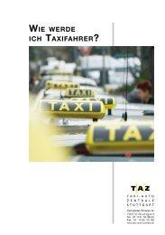 WIE WERDE ICH TAXIFAHRER? - Taxi-Auto-Zentrale Stuttgart