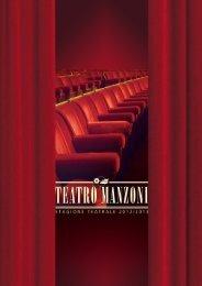 Scarica la brochure della stagione 2012/2013 - Teatro Manzoni