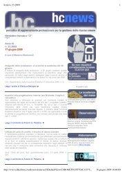hcnews 23-2009.pdf - Edk Editore Srl
