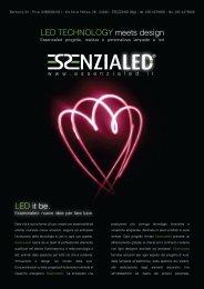 LED it be. LED TECHNOLOGY meets design - Essenzialed