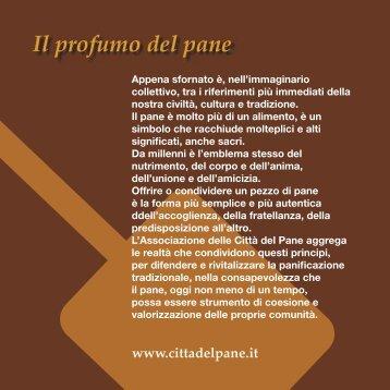 depliant PANE MIELE - AssoPanificatori