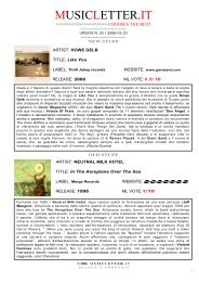 pdf   click here - MUSICLETTER.it