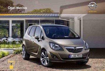 Catalogo Opel Meriva - Opel Portugal