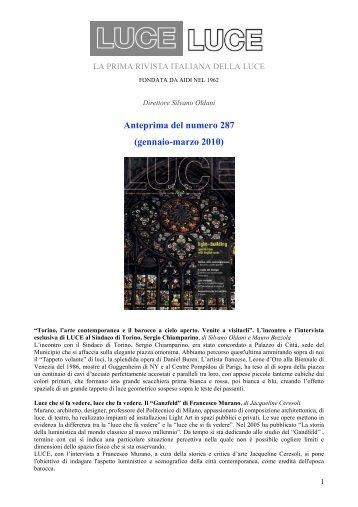 Anteprima del numero 287 (gennaio-marzo 2010) - AIDI